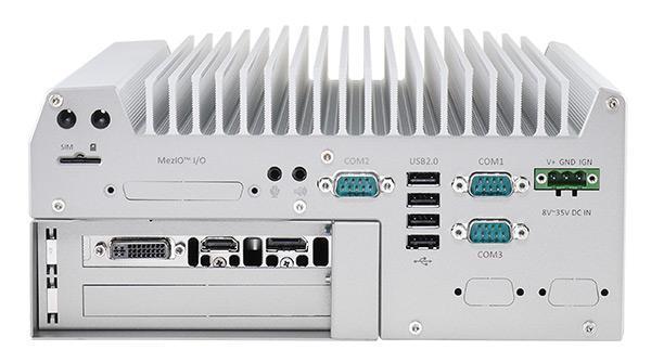 Nuvo-5095GC GPU Computing Edge AI Platform | GTX1050 - Neousys