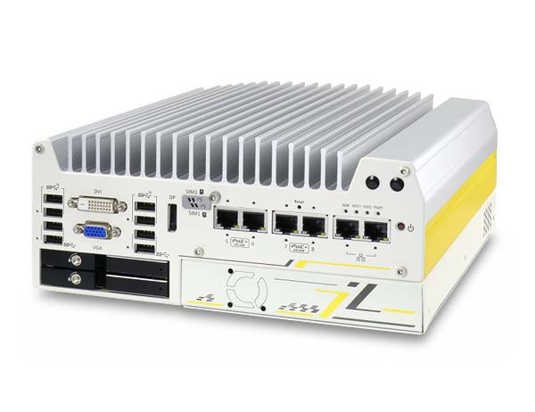 Nuvo-7250VTC Intel 8th/9th In-vehicle fanless PC | SuperCap Power
