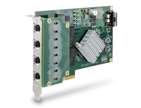 Neousys Technology Launches PCIe-PoE312M, A World-First Server-grade Gigabit 802.3at PoE+ Card with M12 x-coded Connectors