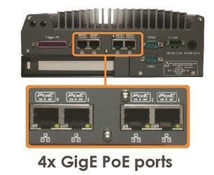 Nuvis-3304af 4x GigE PoE ports