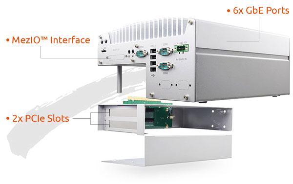 Nuvo-5026E | Fanless Controller | Dual-PCIe slots