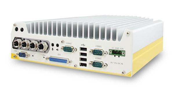 Nuvo-5100VTC: 6th-Gen Skylake Core™ i7/i5/i3 In-Vehicle Controller with 4x M12 PoE+ Ports
