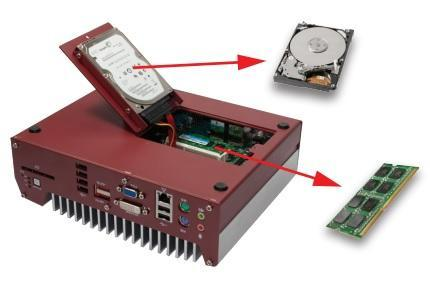 Fanless and Trapdoor Design for Easy Maintenance
